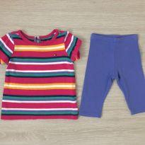 Conjunto Tommy Hifiger 6-9M Ref 086 - 6 a 9 meses - Tommy Hilfiger
