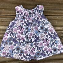 Vestido Zara floral 3-6M Ref 065 - 3 a 6 meses - Zara