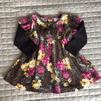 Vestido plush Pulla Bulla M Ref 106 - 3 a 6 meses - Pulla Bulla
