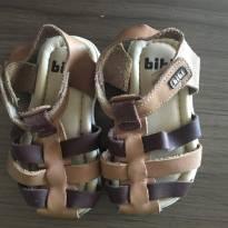 Sandalia em couro com tiras Bibi - 20 - Bibi