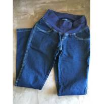 Calça jeans gestante Emma Fiorezi M - M - 40 - 42 - Emma Fiorezi