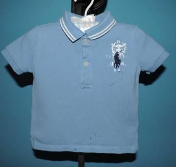 Camisa Pólo Ralph Lauren - 9 meses - Ralph Lauren