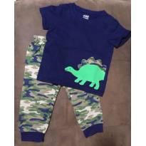 Conjunto / pijama camuflado - 18 meses - Child of Mine