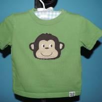 Conjunto com calça camuflada e camiseta - 1 ano - Carter`s