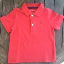 Camiseta Pólo vermelha Tommy Hilfiger - 2 anos - Tommy Hilfiger
