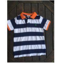 Camisa polo listrada Ralph Lauren 24M - 2 anos - Ralph Lauren