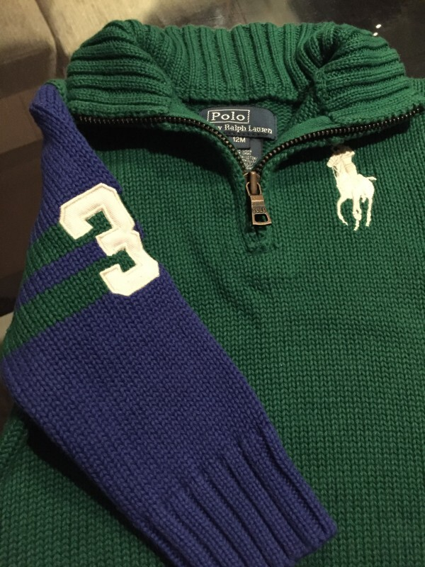 Blusa lã Polo Ralph Lauren - linda!!! 1 ano no Ficou Pequeno ... abc19bb5649