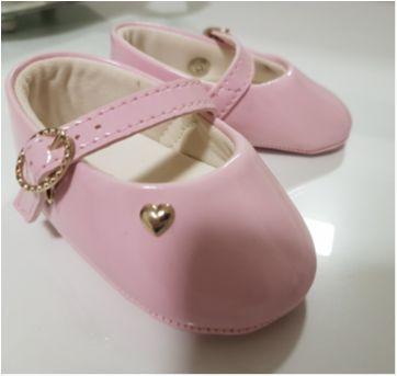 Sapato Rosa Claro - 16 - Pimpolho