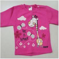 Blusa Rosa de Frio - 2 anos - Jidi Kids