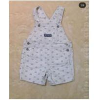 Jardineira - 6 a 9 meses - Tommy Hilfiger