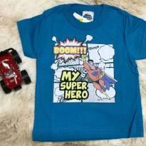 Camiseta Heróis - 3 anos - Bicho bagunça