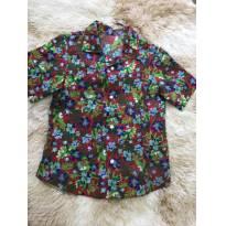 Camisa havaiana - 4 anos - sem etiqueta