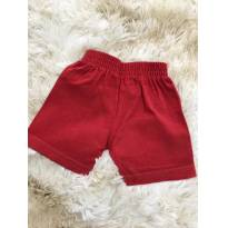 PROMOÇÃO!!! Shortinho vermelho - 6 meses - Isensee