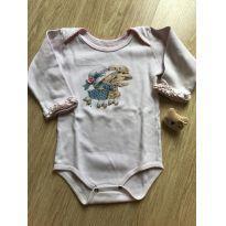 Body menininha fofo - 6 a 9 meses - Anjos baby