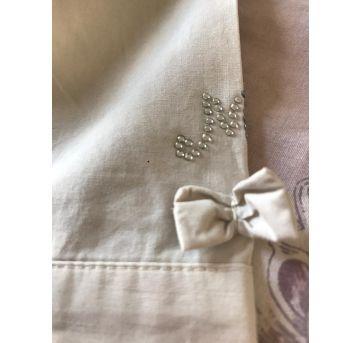 Camisa linda - 9 a 12 meses - etiqueta foi cortada