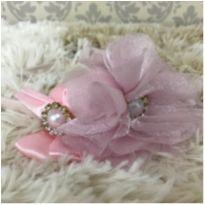 Tiara linda - rosa - Sem faixa etaria - Feito à mão