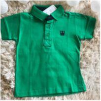 Camiseta gola polo - 2 anos - Colorittá