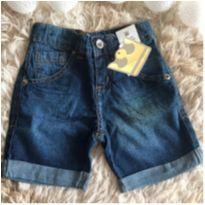 Bermudinha jeans - 1 ano - Colorittá