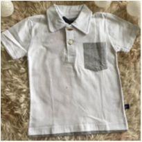 Camiseta gola polo - 2 anos - Marca não registrada