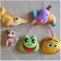 lote brinquedinhos pelúcia -  - Diversos