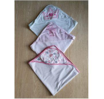 trio toalhas de banho bebê (2 importadas e 1 nacional) - Sem faixa etaria - Carter`s e Gerber