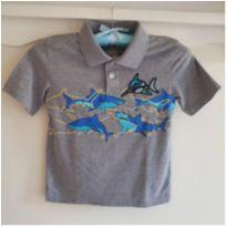 Camiseta gola polo importada dos EUA - 4 anos - Garanimals