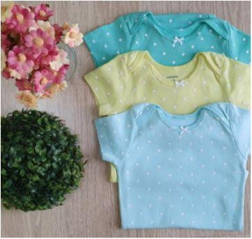 Trio body CARTERS - 1 ano - Carter`s