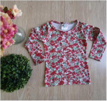 Blusinha floridinha - 1 ano - nanny