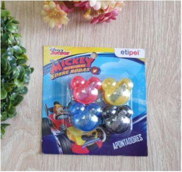 Kit apontadores Mickey - Sem faixa etaria - Marca não registrada
