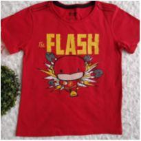 Camiseta flash - 4 anos - Justice League e Riachuelo