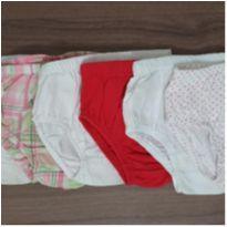 Kit 6 tapa fraldas (IMPORTADAS) - ideal pra colocar com vestidinhos - 6 meses - Carter`s e Polo