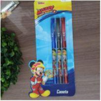 Kit canetas mickey -  - Marca não registrada