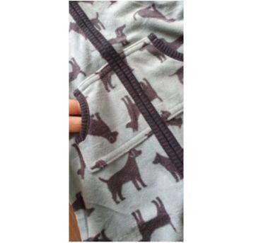 Macacão fleece CARTERS cachorrinhos - 6 meses - Carter`s