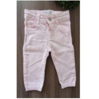 """Jeans"" rosinha - 3 a 6 meses - Baby Denim Collection"