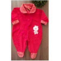 Macacão vermelhinho - 3 a 6 meses - Creep Baby