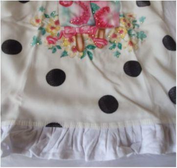 Vestido sorvetes - 9 a 12 meses - Arte Menor