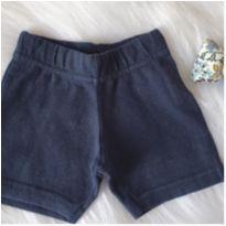 Shortinho azul - 12 a 18 meses - Bambini