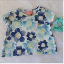 Batinha floral azul - 2 anos - Le Petit