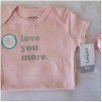 Body CARTERS love you more - 9 meses - Carter`s