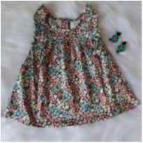 Vestido floral CARTERS - 6 meses - Carter`s