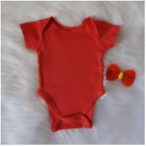 Body vermelhinho - Recém Nascido - Teddy Boom
