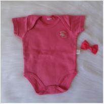 Body rosa - Recém Nascido - Ano Zero