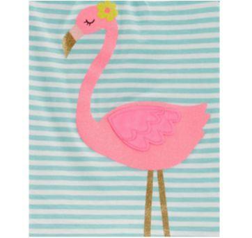 Conjunto CARTERS flamingo - 9 meses - Carter`s