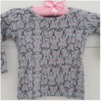 Camiseta manga longa gatinhas - 1 ano - Baby Club