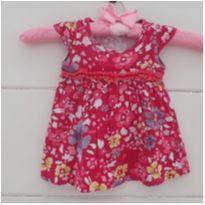 Vestidinho floral - 3 a 6 meses - Elian