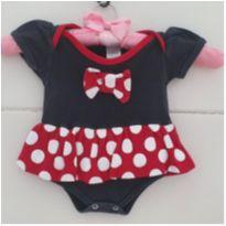 Body minnie - 3 a 6 meses - Pimpinha