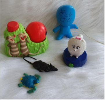 Desocupando o armário de brinquedos - Lotinho 14 - Sem faixa etaria - Diversas