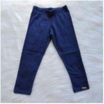 Calça legging azul - 3 anos - Carinhoso