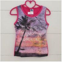 Camiseta verão Tam. 14 - NOVA - 13 anos - Bicho bagunça