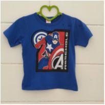 Camiseta Capitão América - 5 anos - Avengers